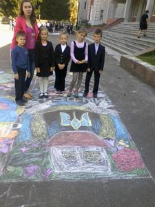 Конкурс малюнків на асфальті » НВК №2